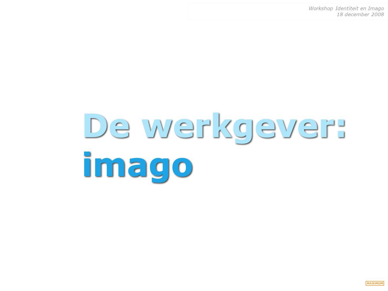 De werkgever: imago