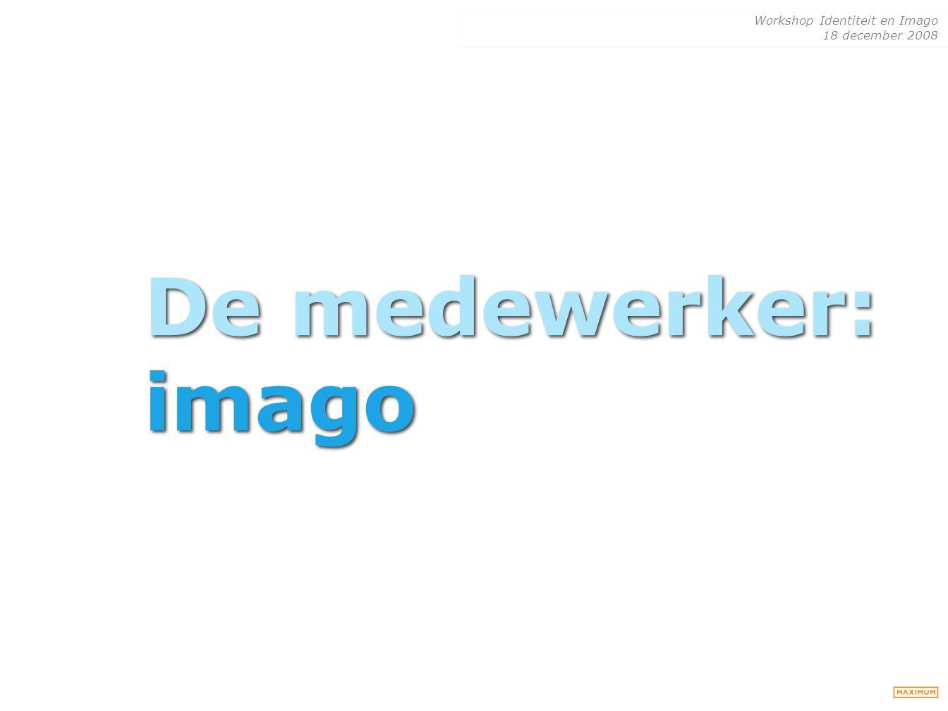 De medewerker: imago