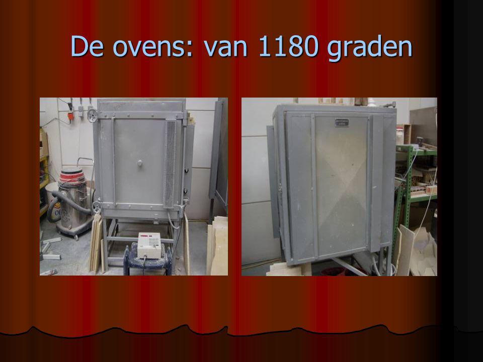 De ovens: van 1180 graden
