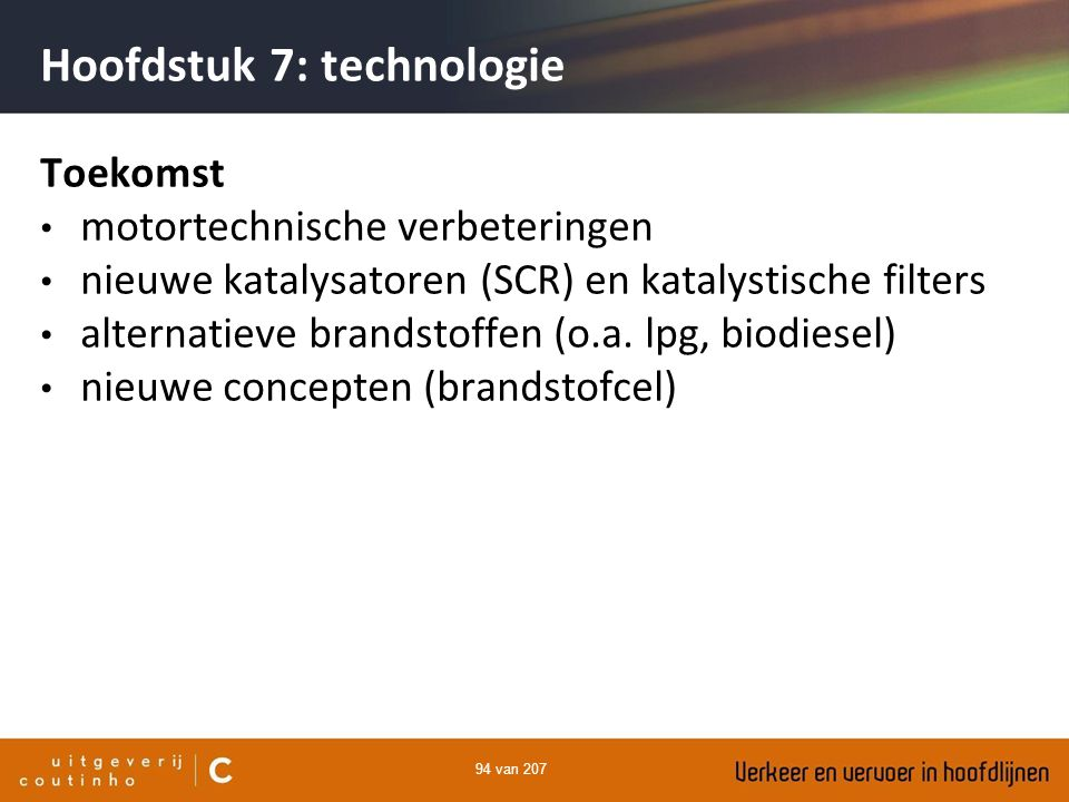 Hoofdstuk 7: technologie