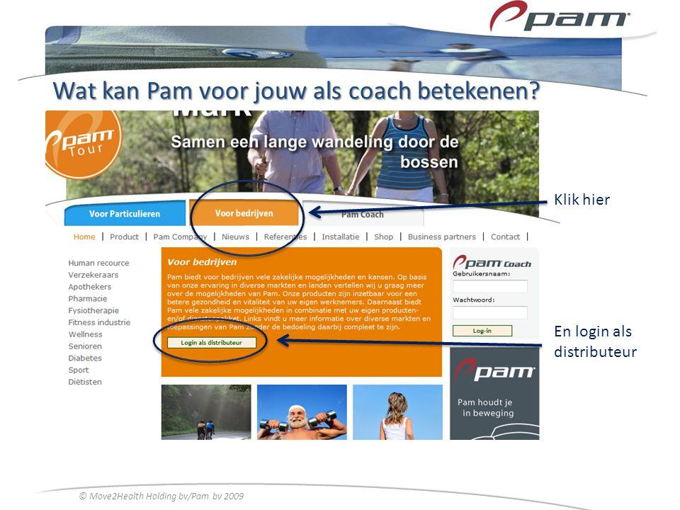Wat kan Pam voor jouw als coach betekenen