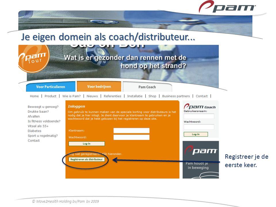Je eigen domein als coach/distributeur...