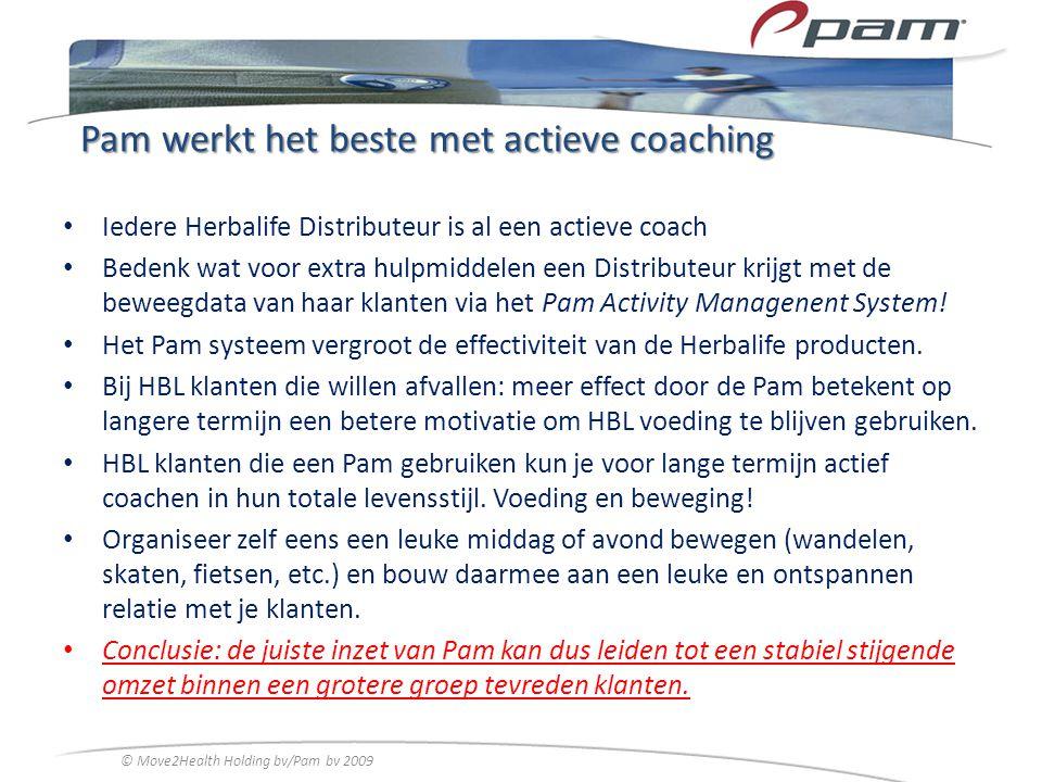 Pam werkt het beste met actieve coaching
