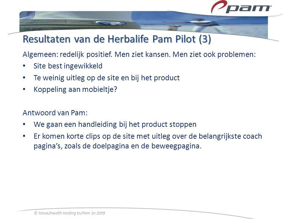 Resultaten van de Herbalife Pam Pilot (3)