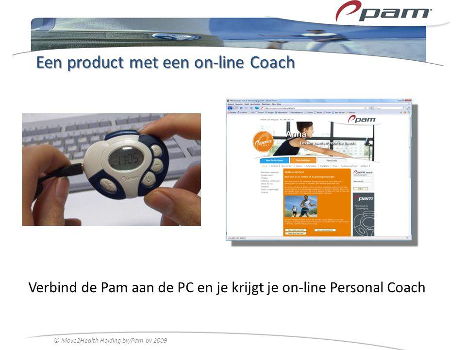 Een product met een on-line Coach