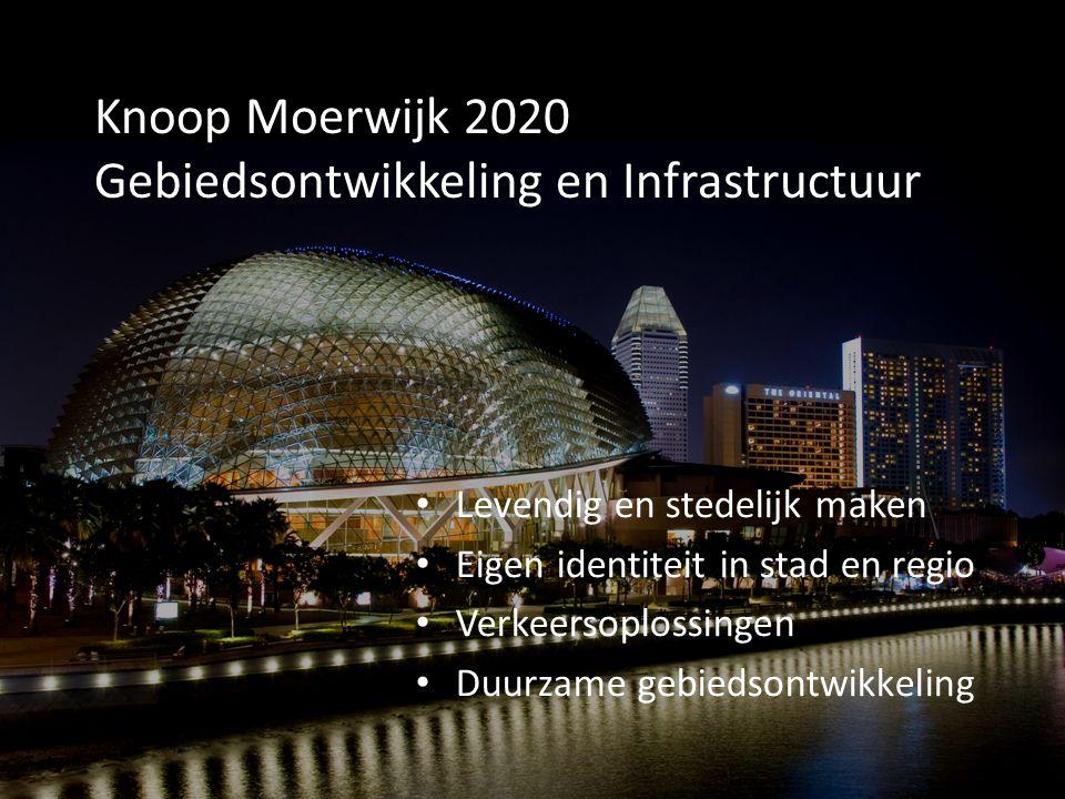Knoop Moerwijk 2020 Gebiedsontwikkeling en Infrastructuur