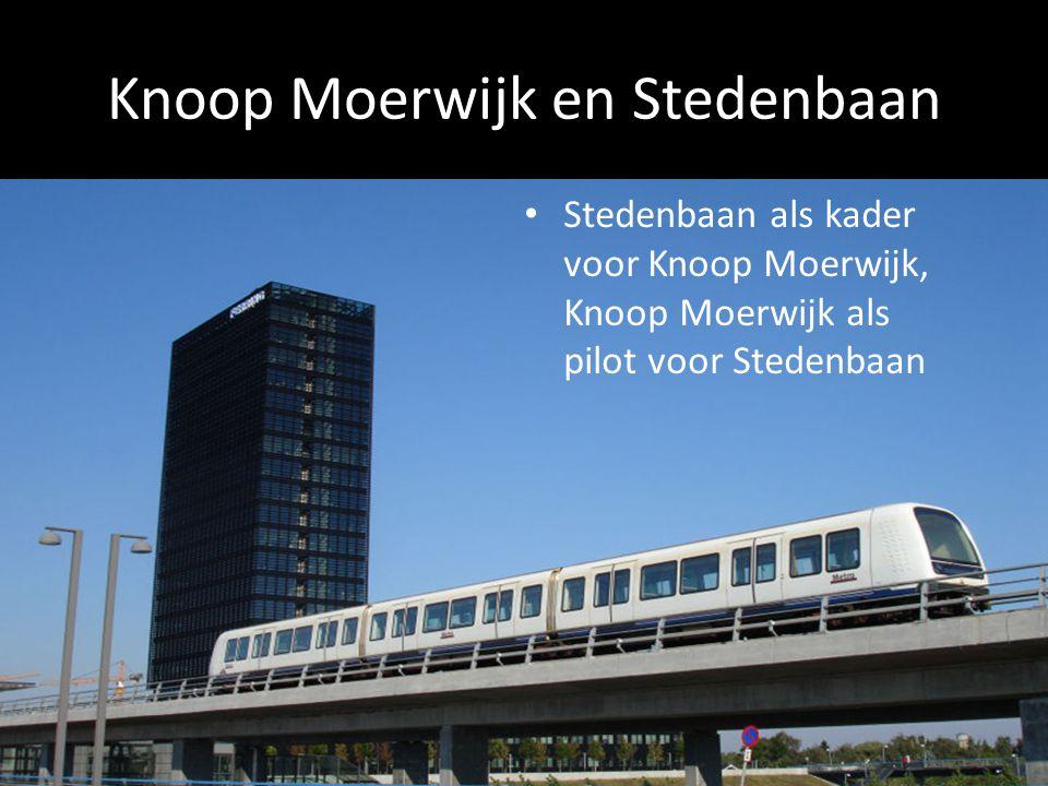 Knoop Moerwijk en Stedenbaan