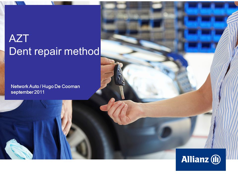 AZT Dent repair method Network Auto / Hugo De Cooman september 2011