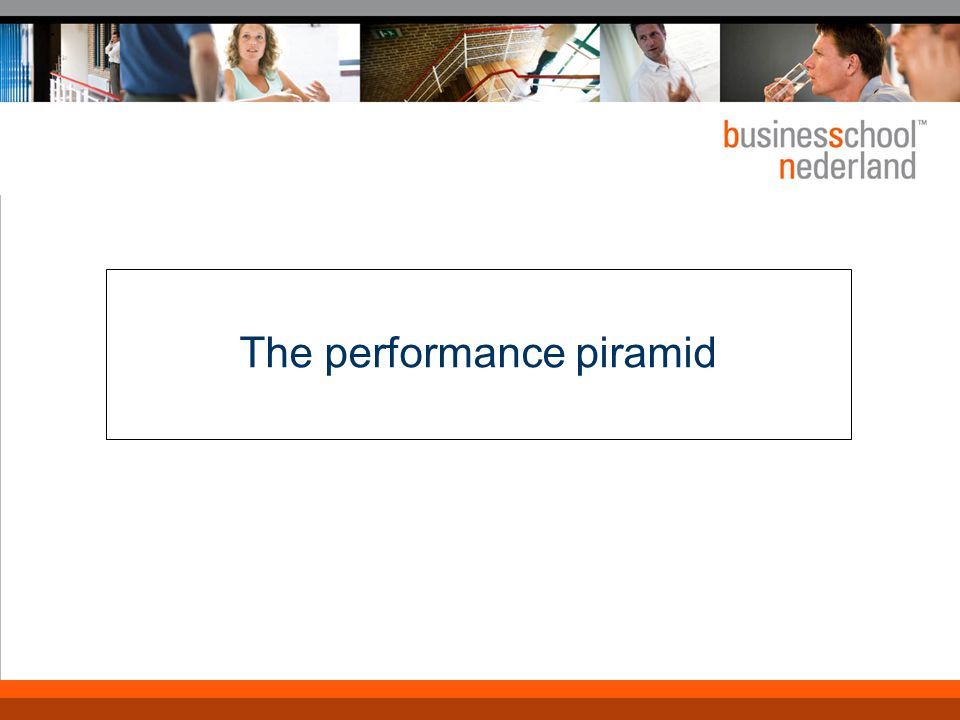 Performance pyramid Kern: