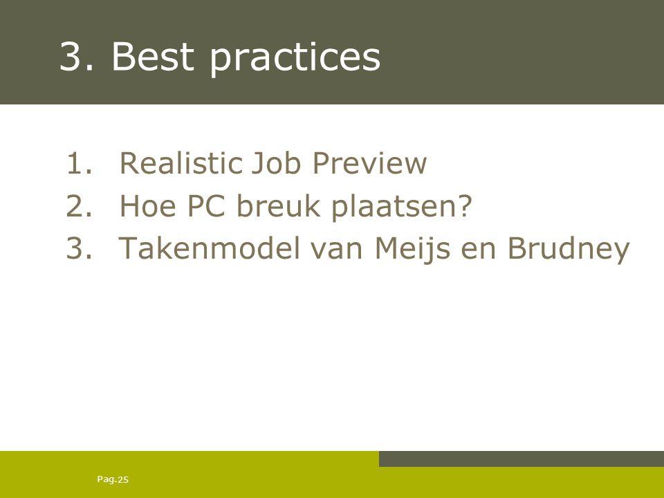 3. Best practices Realistic Job Preview Hoe PC breuk plaatsen