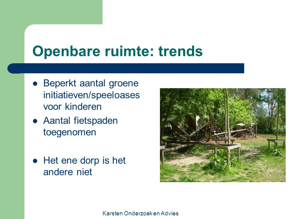 Openbare ruimte: trends