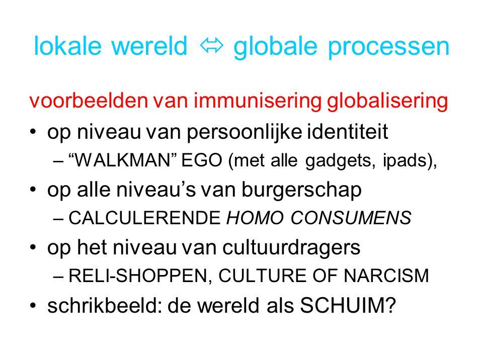 lokale wereld  globale processen