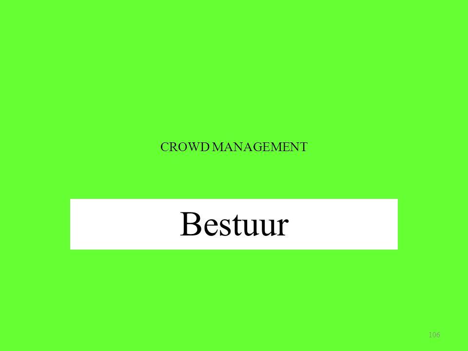 CROWD MANAGEMENT Bestuur 106