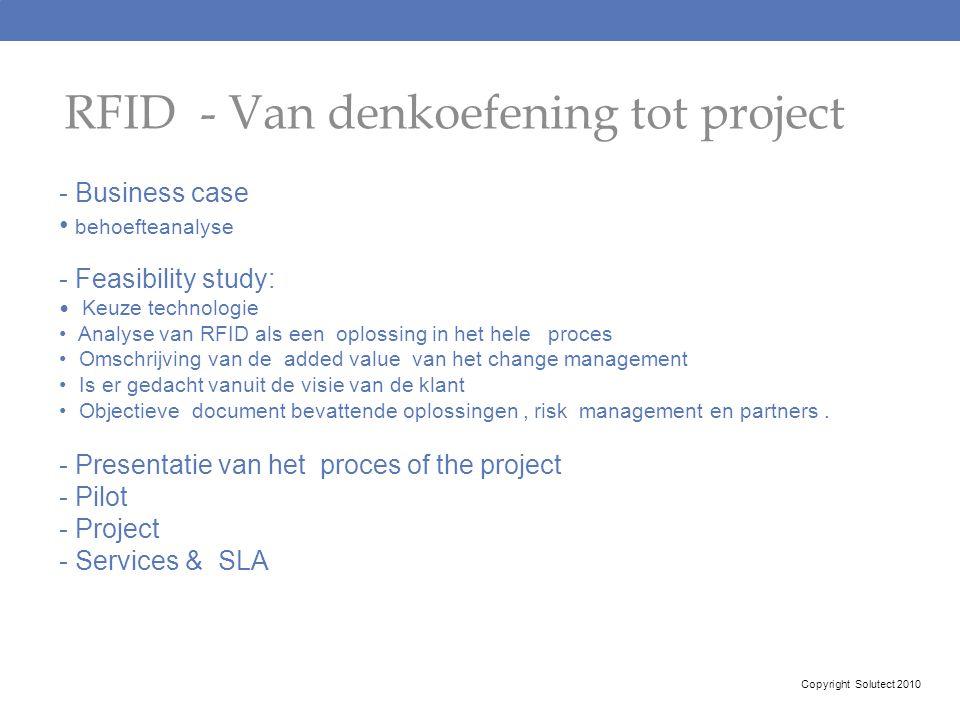 RFID - Van denkoefening tot project