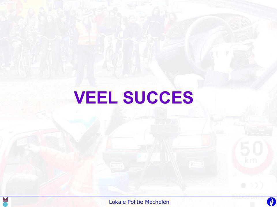 VEEL SUCCES