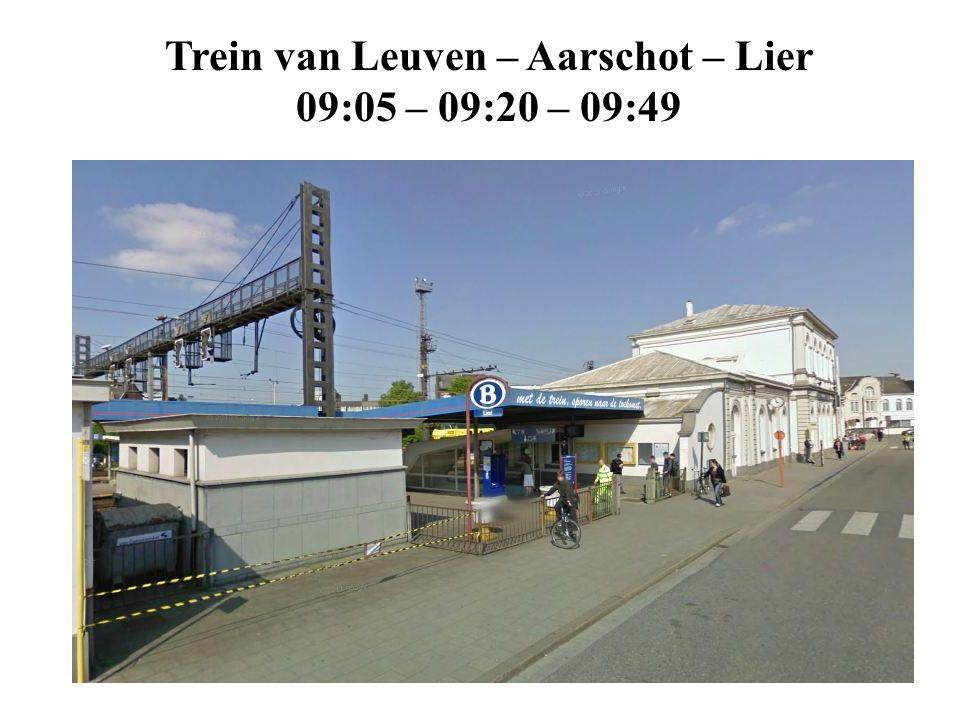 Trein van Leuven – Aarschot – Lier