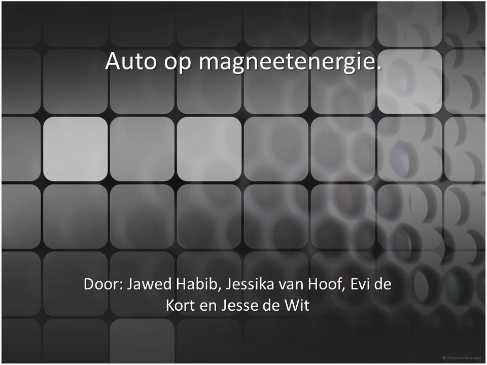 Auto op magneetenergie.