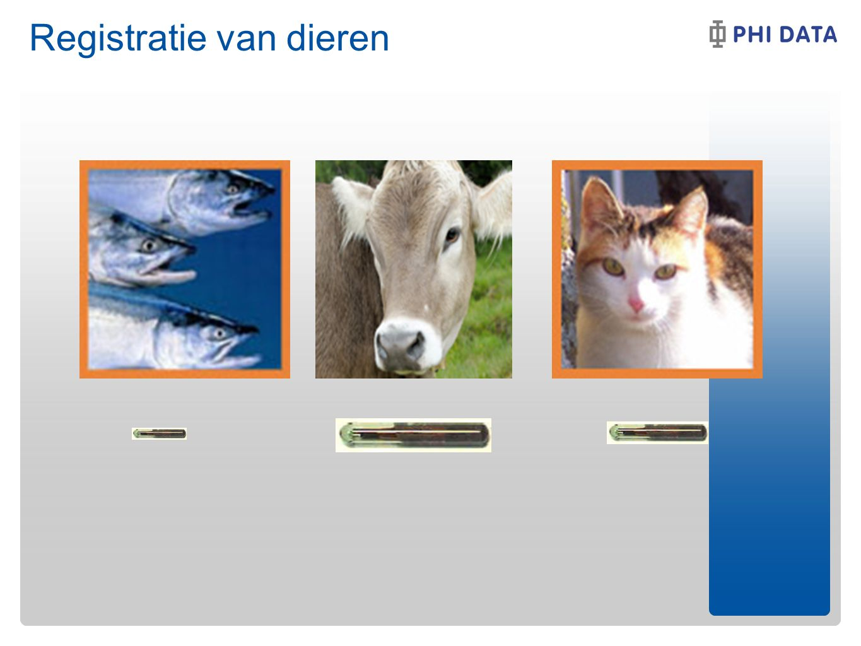Registratie van dieren