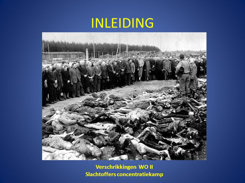 Slachtoffers concentratiekamp
