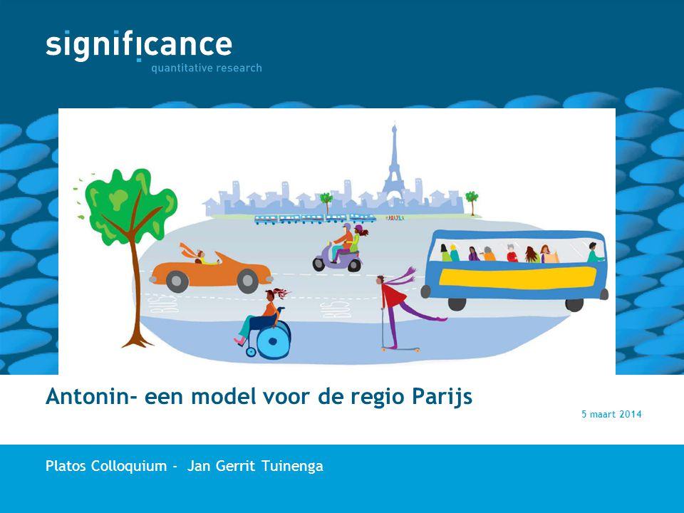 Antonin- een model voor de regio Parijs