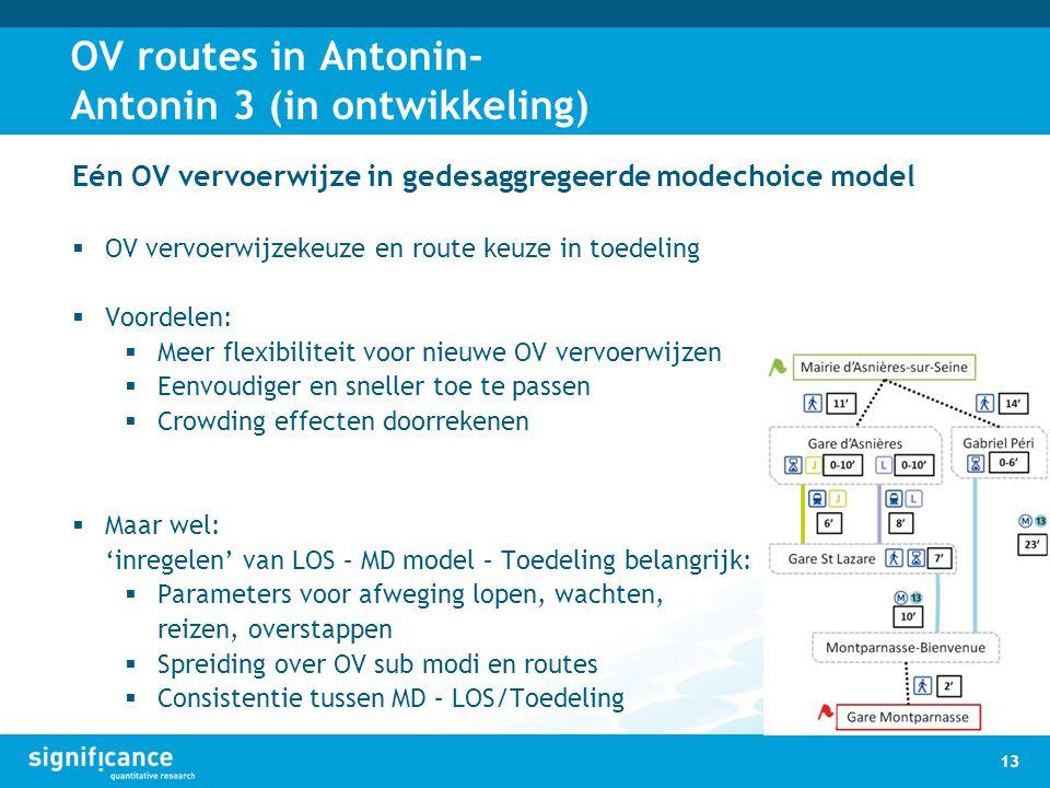 OV routes in Antonin- Antonin 3 (in ontwikkeling)