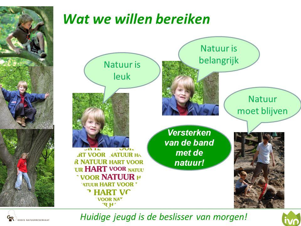 Versterken van de band met de natuur!
