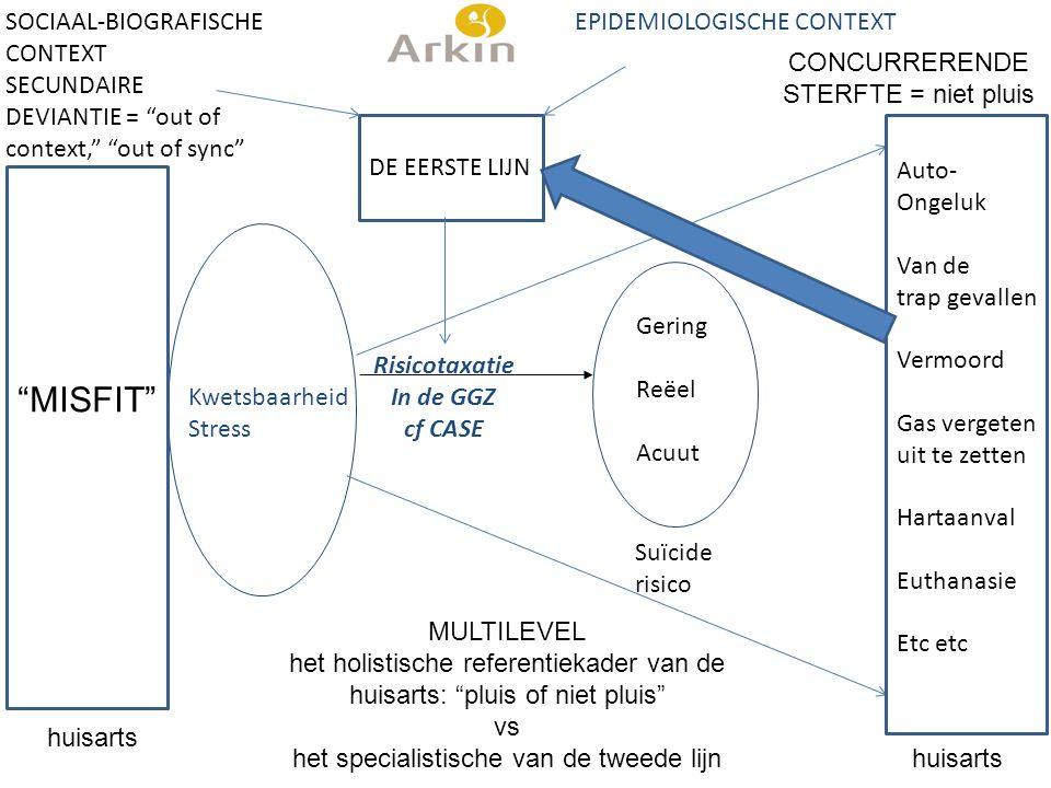 MISFIT SOCIAAL-BIOGRAFISCHE CONTEXT SECUNDAIRE