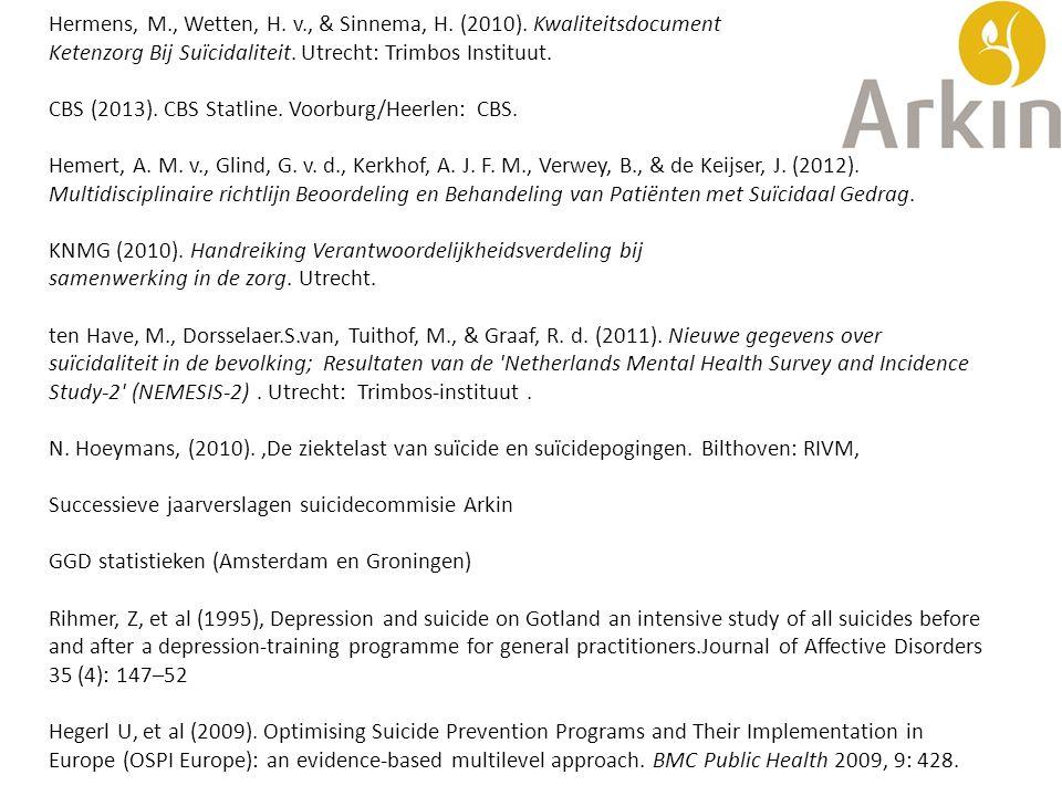 Hermens, M., Wetten, H. v., & Sinnema, H. (2010). Kwaliteitsdocument