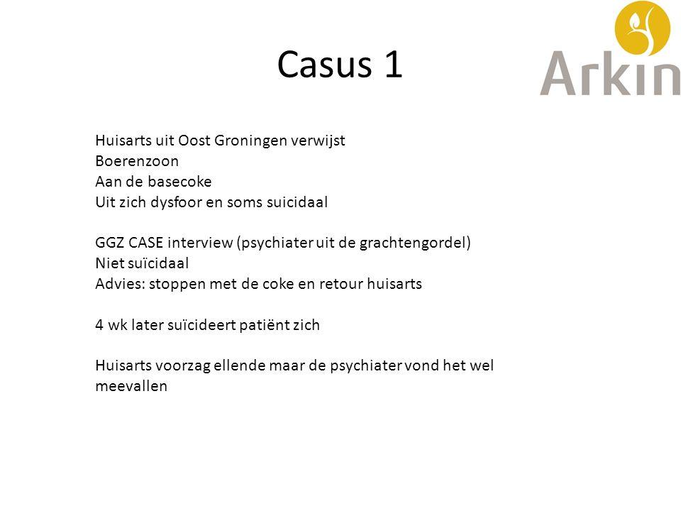 Casus 1 Huisarts uit Oost Groningen verwijst Boerenzoon