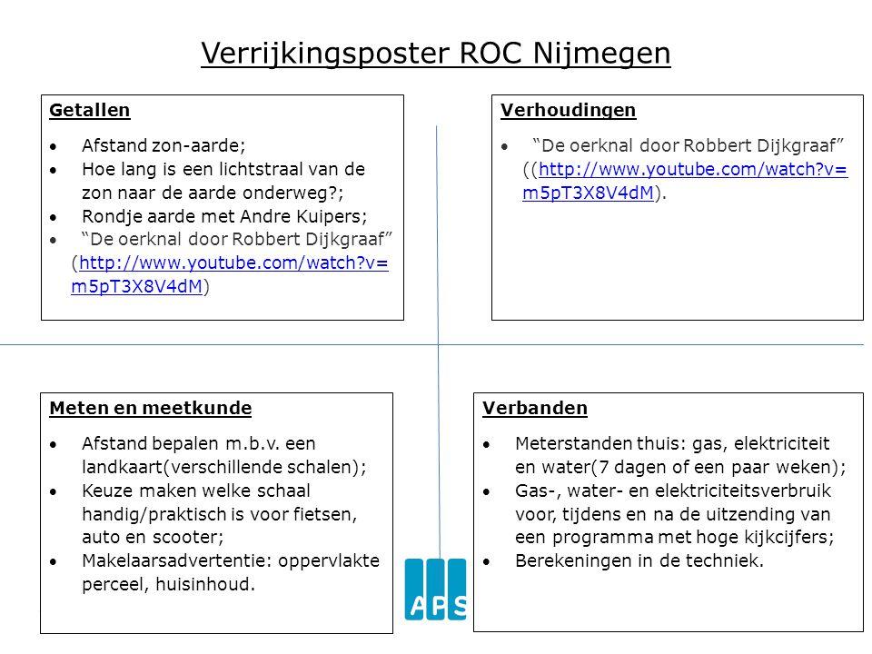 Verrijkingsposter ROC Nijmegen