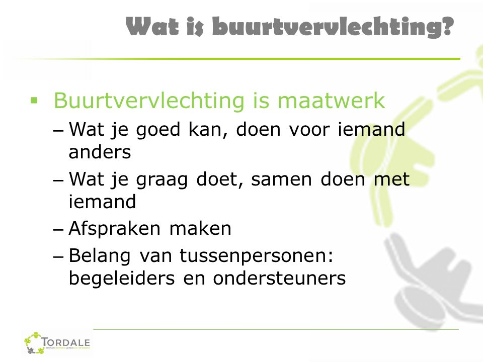 Wat is buurtvervlechting