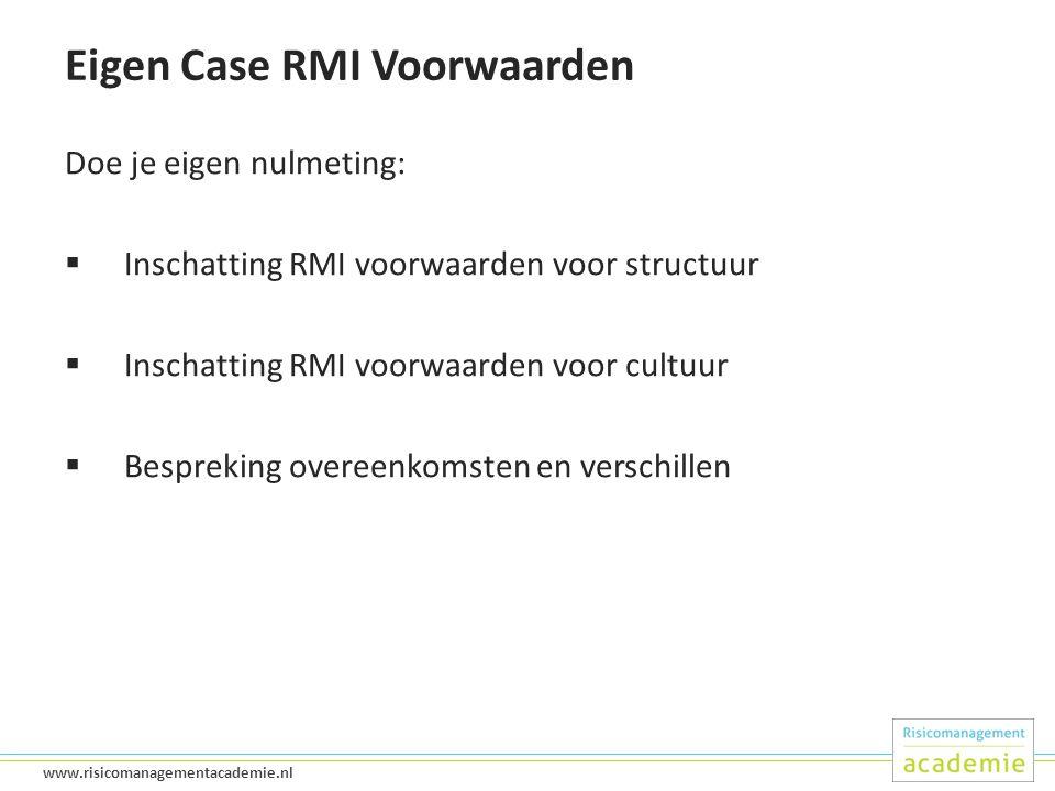 Eigen Case RMI Voorwaarden