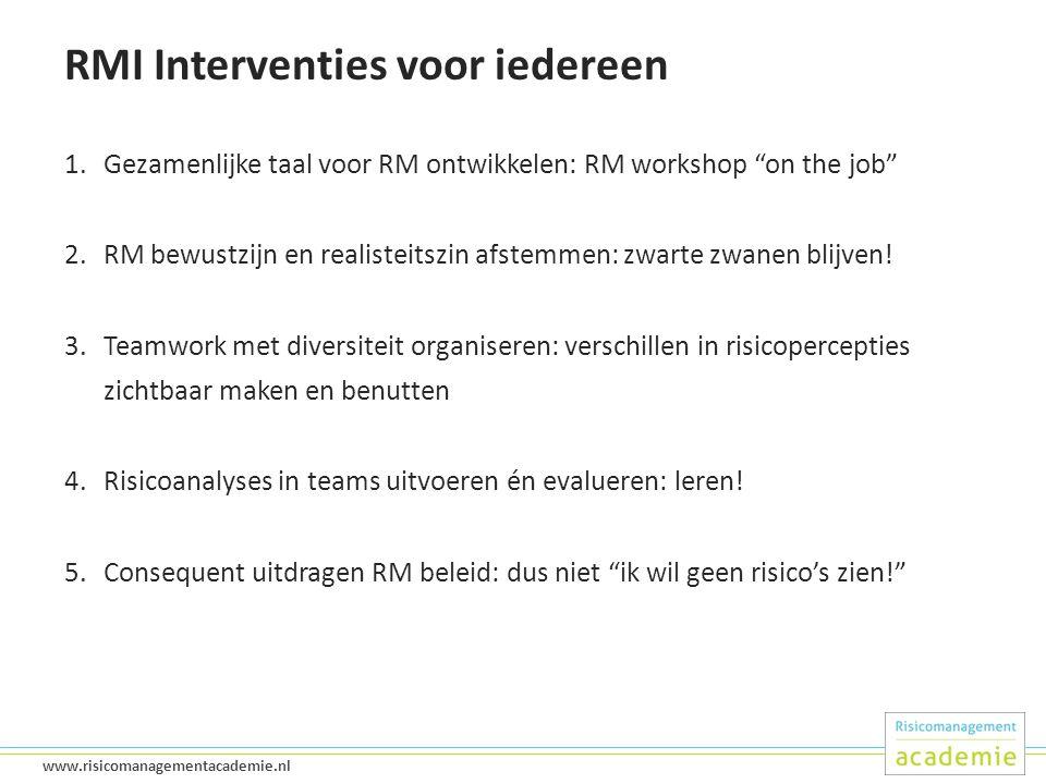 RMI Interventies voor iedereen