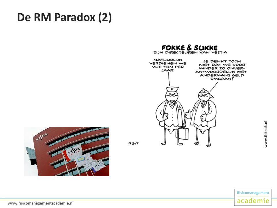 De RM Paradox (2)