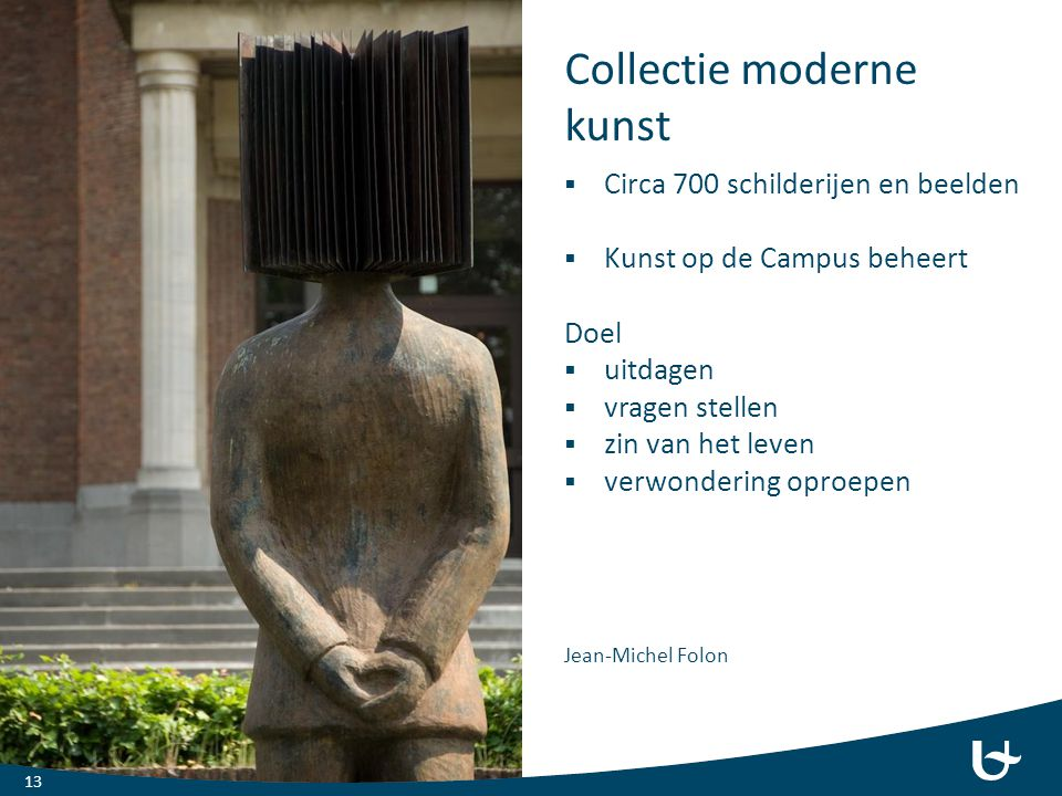 Collectie moderne kunst