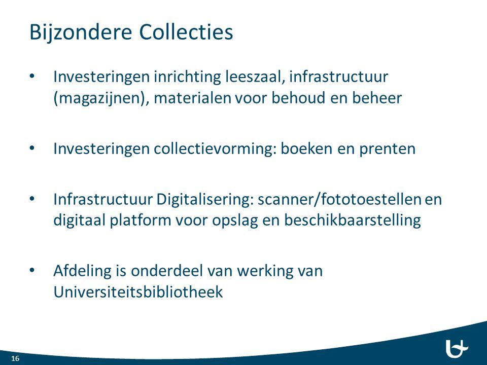 Bijzondere Collecties