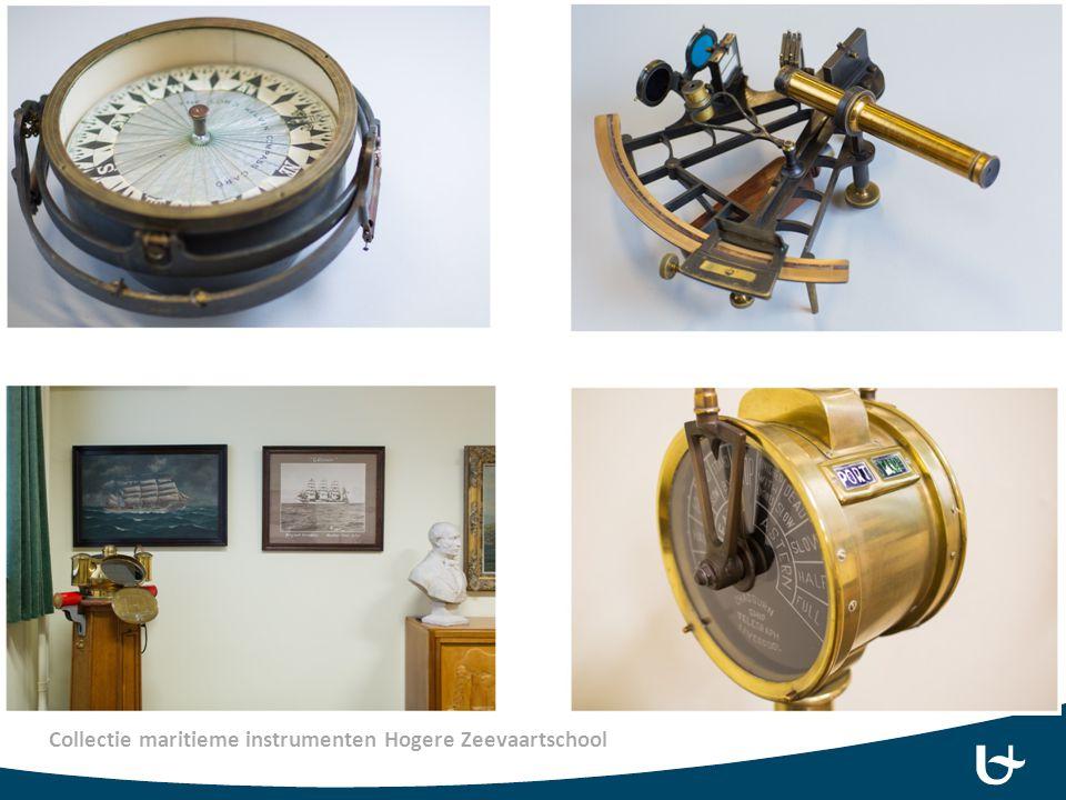 Collectie maritieme instrumenten Hogere Zeevaartschool