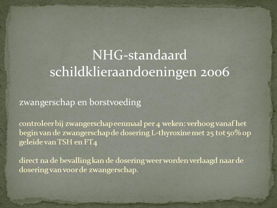 NHG-standaard schildklieraandoeningen 2006