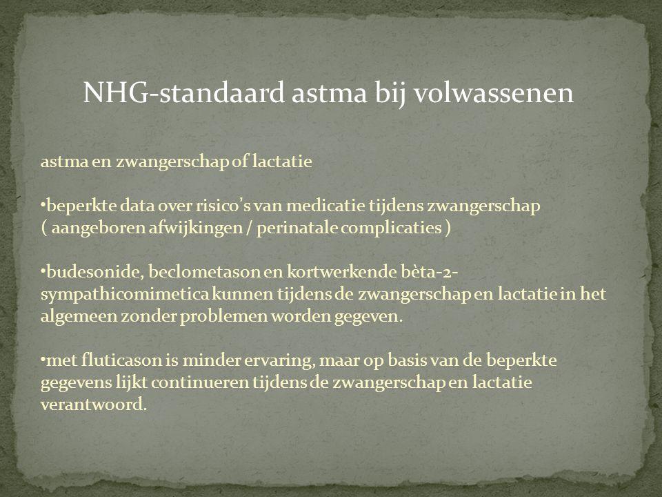 NHG-standaard astma bij volwassenen