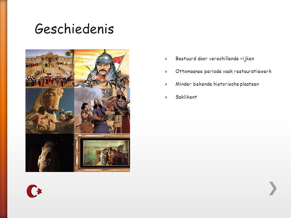 Geschiedenis Bestuurd door verschillende rijken
