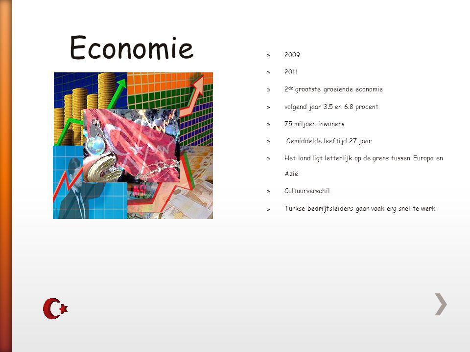 Economie 2009 2011 2de grootste groeiende economie
