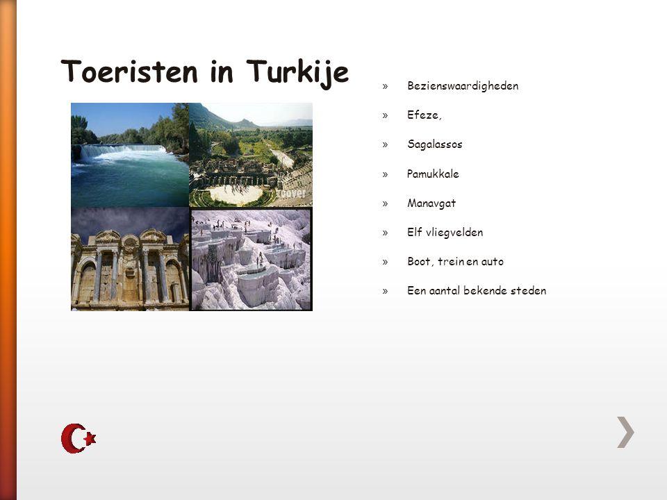 Toeristen in Turkije Bezienswaardigheden Efeze, Sagalassos Pamukkale