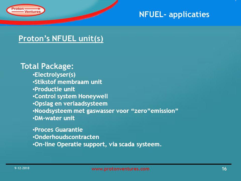 Proton's NFUEL unit(s)