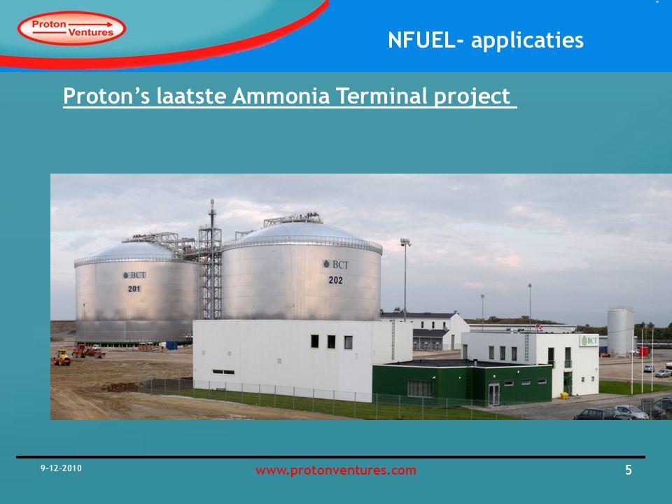 Proton's laatste Ammonia Terminal project