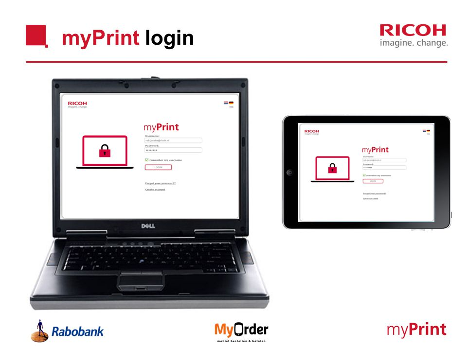 myPrint login
