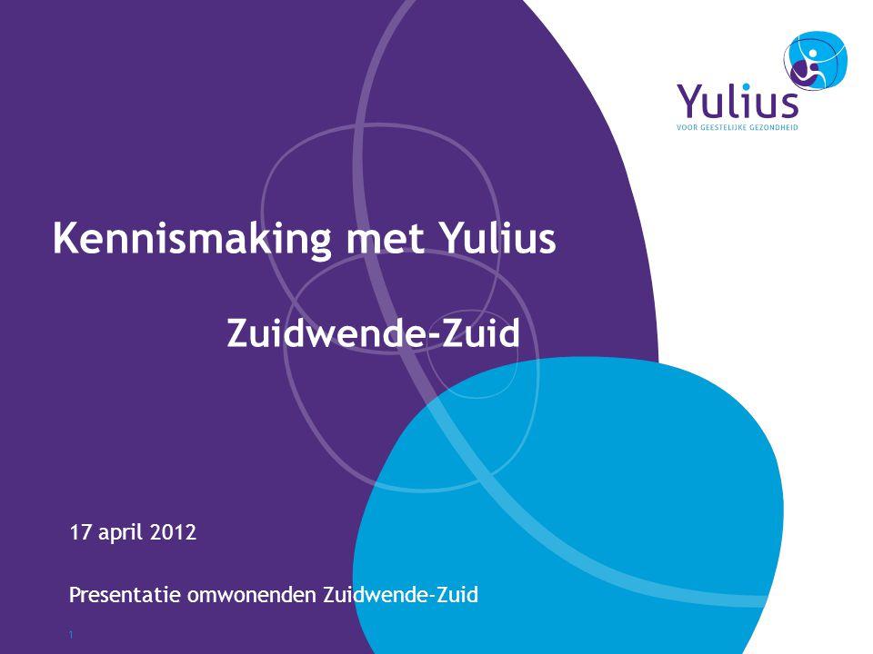 Kennismaking met Yulius Zuidwende-Zuid