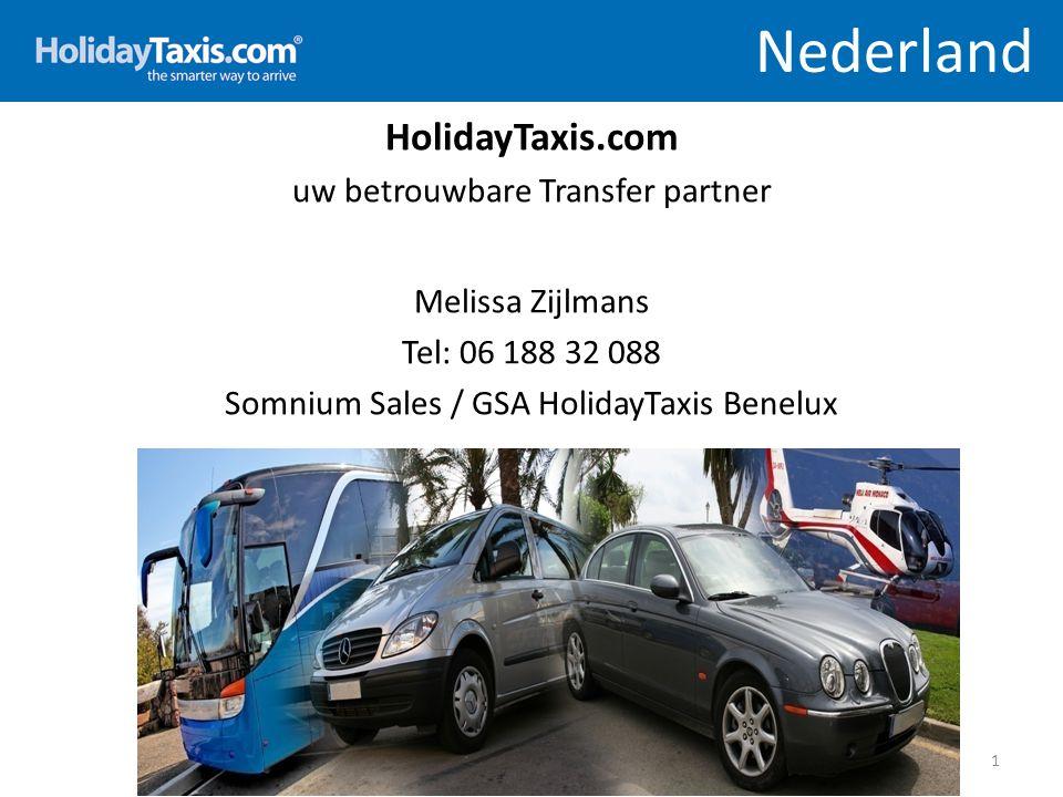 Nederland HolidayTaxis.com uw betrouwbare Transfer partner