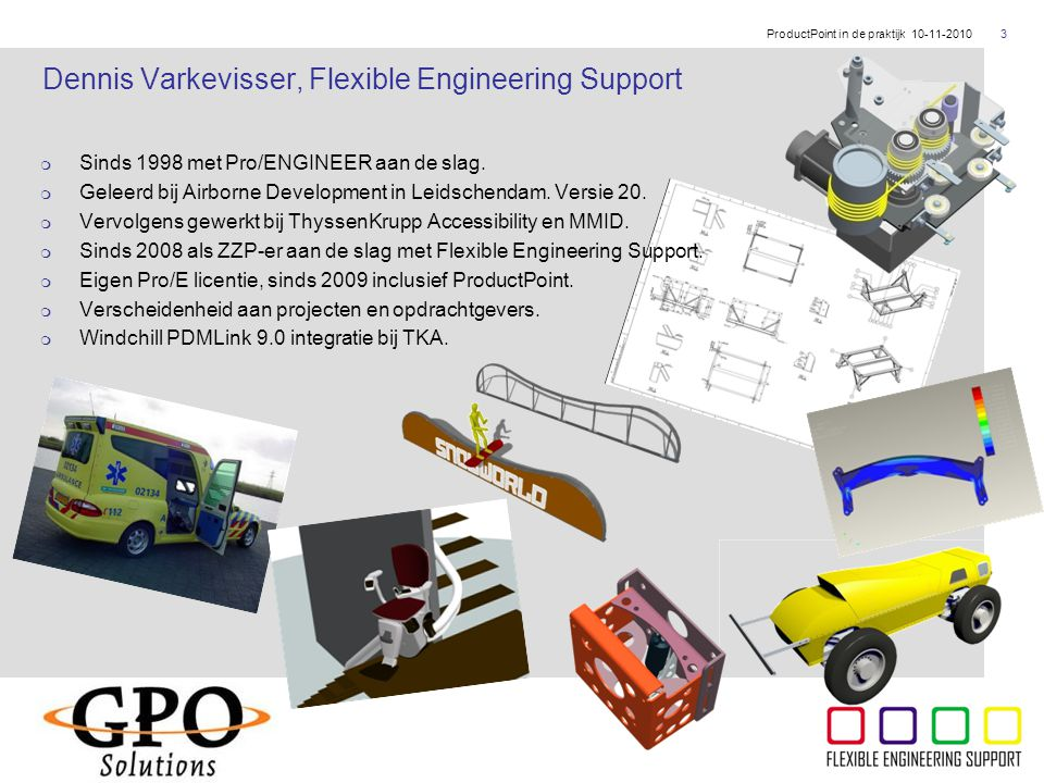 Dennis Varkevisser, Flexible Engineering Support
