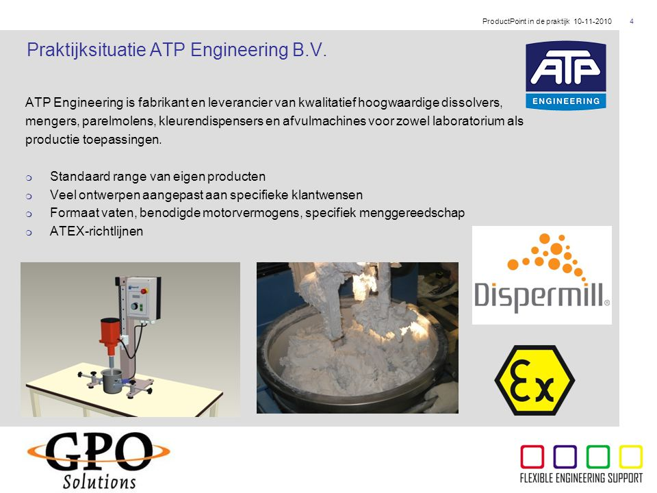 Praktijksituatie ATP Engineering B.V.