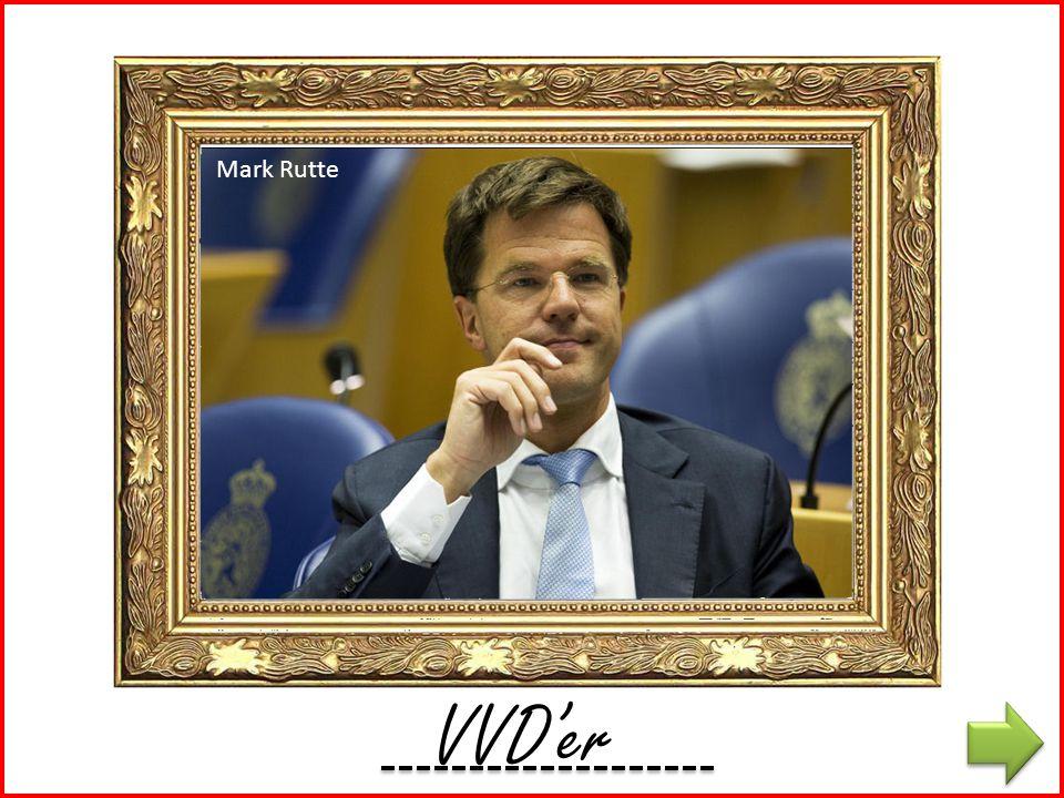 Mark Rutte VVD K'er